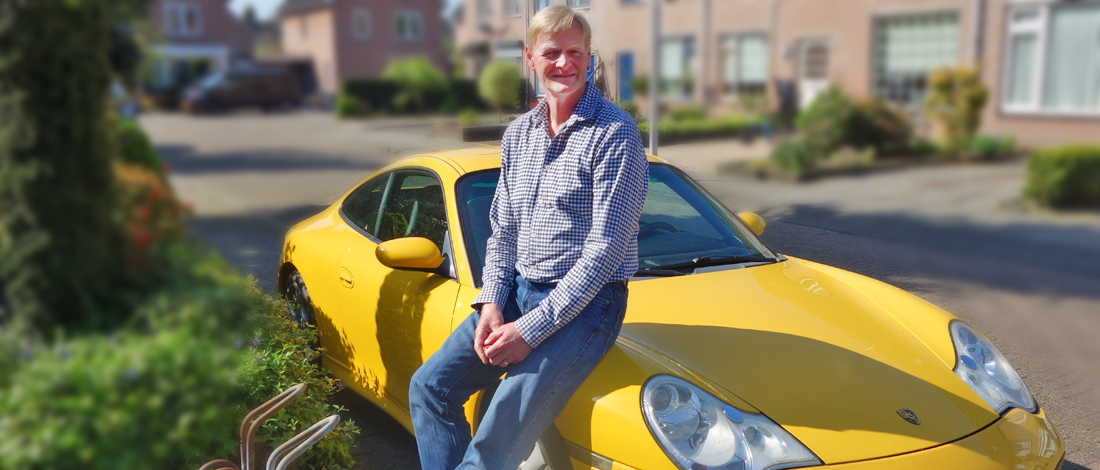 Photo of Een Porsche was altijd al een droom van Louis