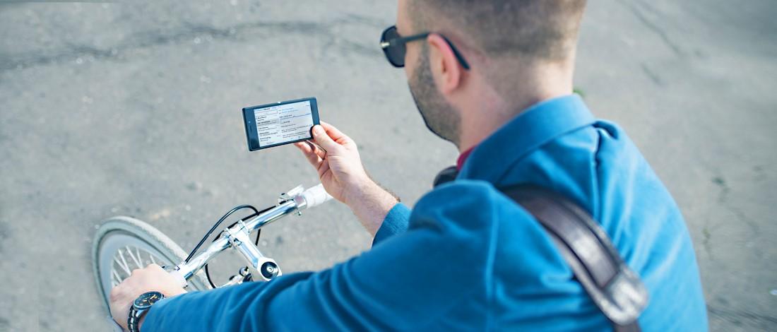 Photo of Smartphonegebruik op de fiets: mag dat?