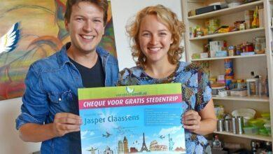Photo of Jasper wint de gratis stedentrip!