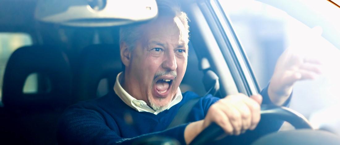 agressief rijgedrag: wat zijn de kenmerken