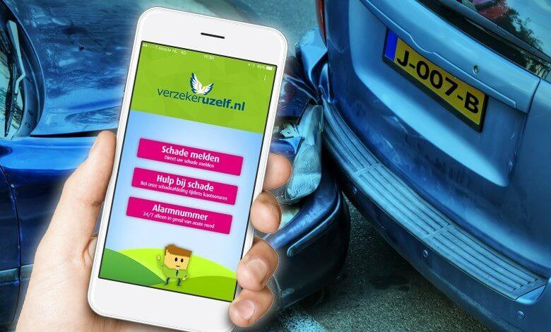 Mobielschademelden.nl, zo werkt het!   Verzekeruzelf