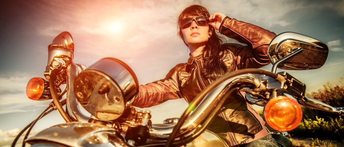 Vrouwen: ga motorrijden
