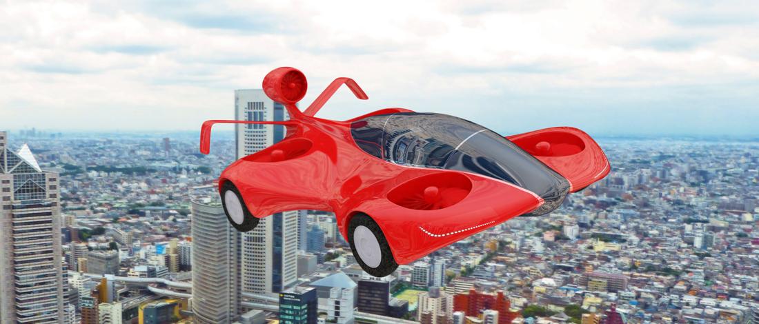 Google-oprichter werkt aan vliegende auto's