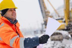 Als bouwvakker de winter door