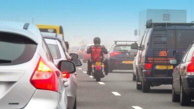 Photo of Motorrijden in de file: mag je inhalen?