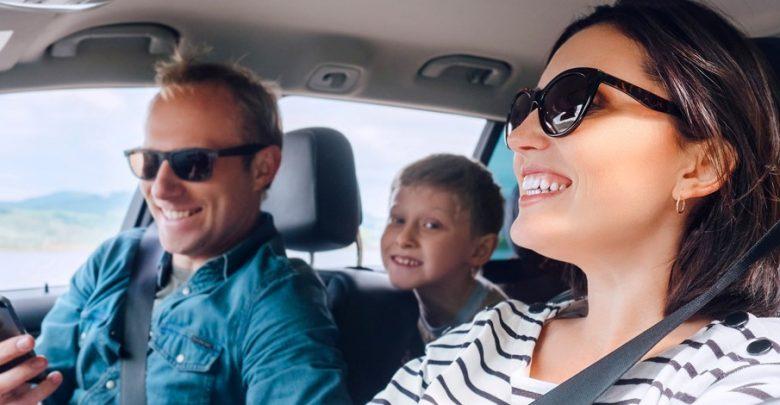 Als een kind zo blij - een nieuwe gezinsauto