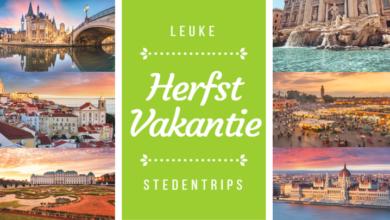 Zes leuke stedentrips voor in de herfstvakantie | Verzekeruzelf.nl
