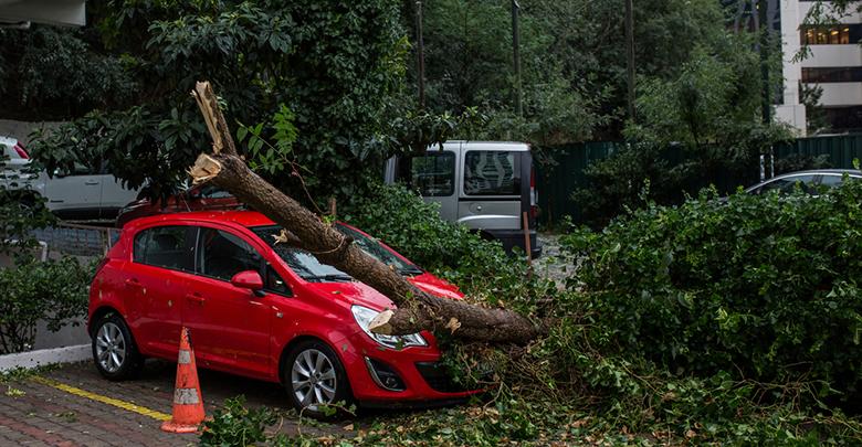 Stormschade aan autoverzekering