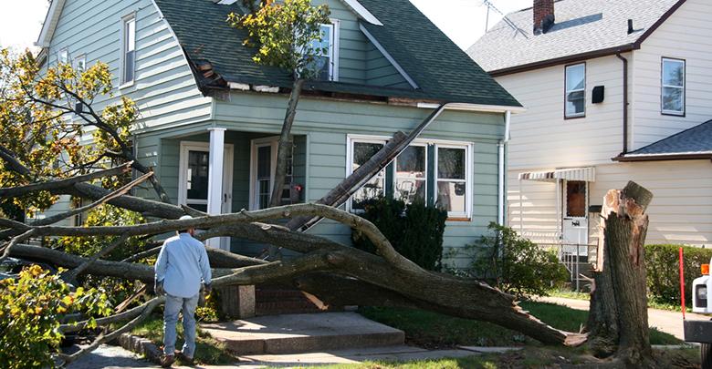 Stormschade aan opstalverzekering