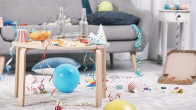 Snel en eenvoudig je huis schoon na een feestje | Verzekeruzelf